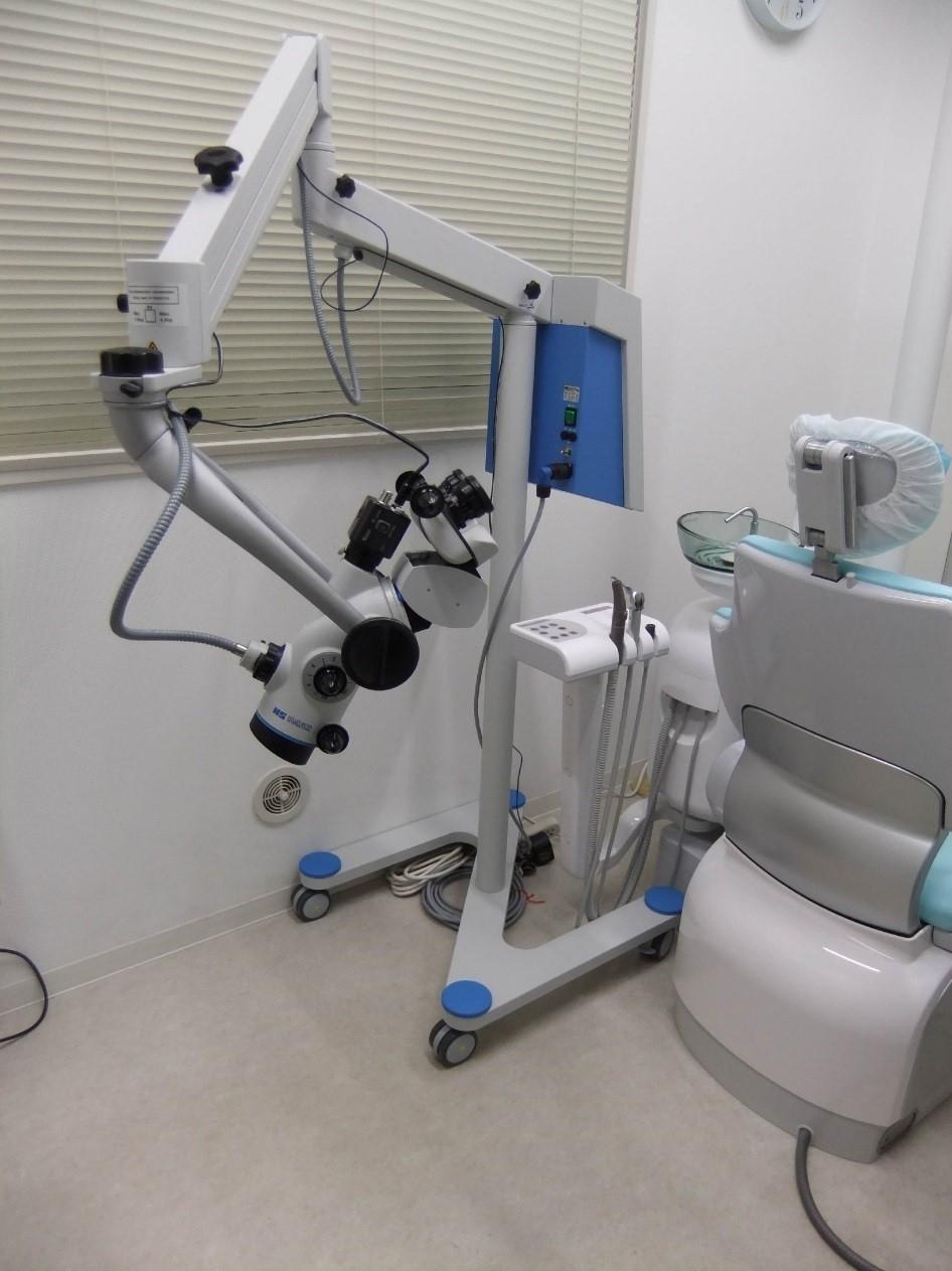 ドイツ・メーラー社の歯科用実体顕微鏡